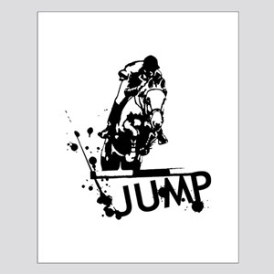EQUESTRIAN JUMP Small Poster
