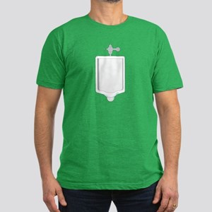Urinal Men's Fitted T-Shirt (dark)