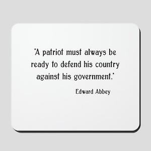 Patriotism Mousepad