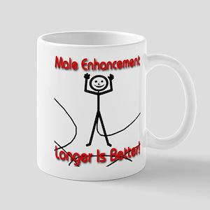 Male Enhancement Longer Is Better Mug