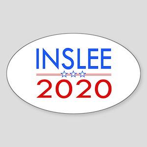 Inslee 2020 Sticker (oval)