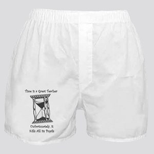 Time Is A Great Teacher Boxer Shorts