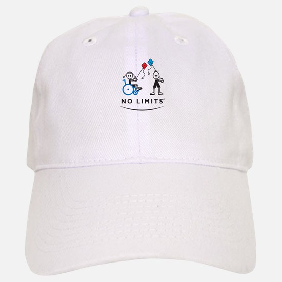 Kite Flying Girl Baseball Baseball Cap