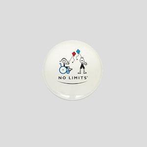 Kite Flying Girl Mini Button (10 pack)
