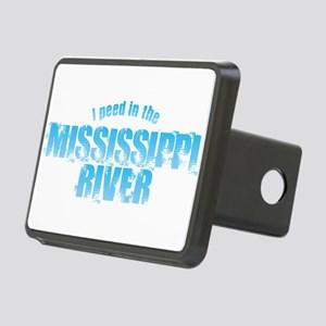 I Peed in the Mississippi Rectangular Hitch Cover