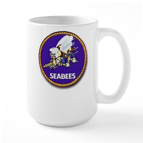 Large Mug With Seabee Logo