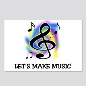 MUSIC MAKER Postcards (Package of 8)