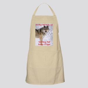 The Wolf - A Vegan BBQ Apron