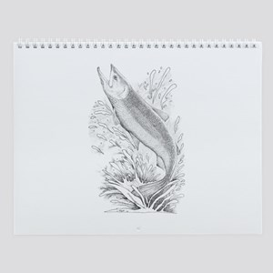 Chinook Salmon Wall Calendar