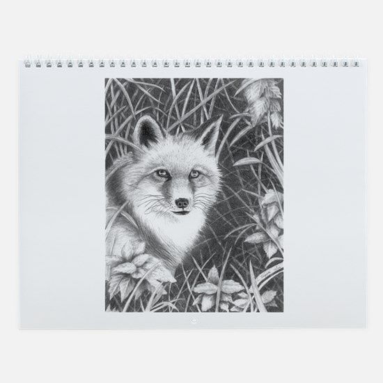 Fox Wall Calendar