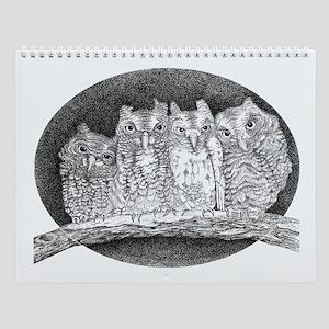 Owls Wall Calendar