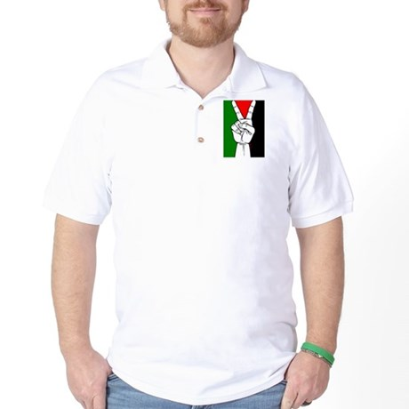 Victory fo Palestine Golf Shirt