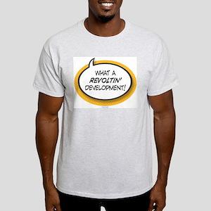 Revoltin' Ash Grey T-Shirt