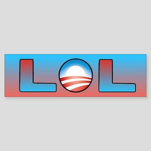Obama: LOL Bumper Sticker