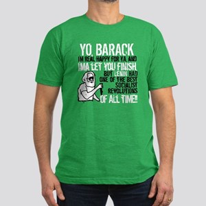 Yo Barack Men's Fitted