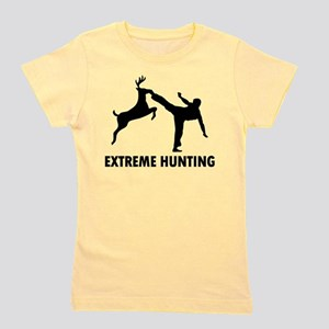 Extrema Hunting Deer Karate Kick T-Shirt