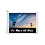 Putt Plastic In Its Place Makeup Bag