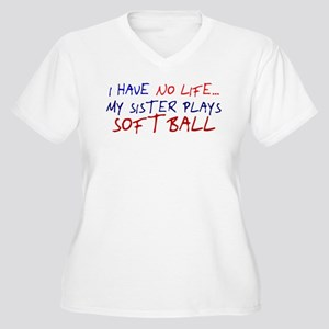 I Have No Life... Women's Plus Size V-Neck T-Shirt