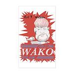 Gil T. on WAKO Rectangle Sticker
