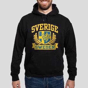 Sverige Sweden Hoodie (dark)