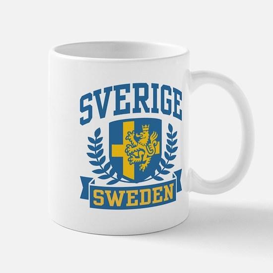 Sverige Sweden Mug