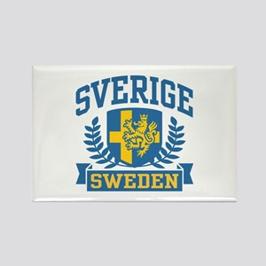Sverige Sweden Rectangle Magnet
