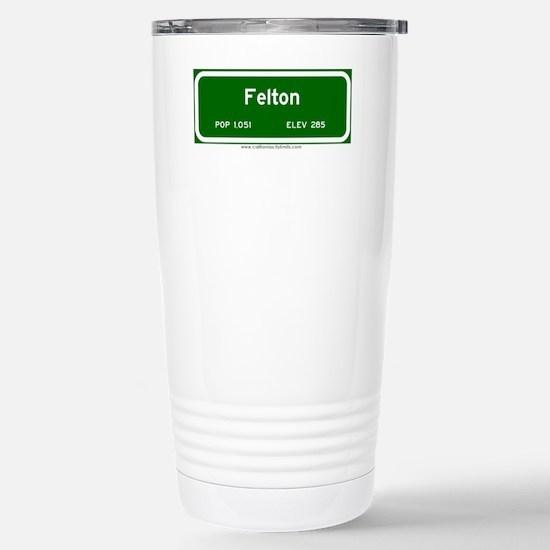 Felton Stainless Steel Travel Mug