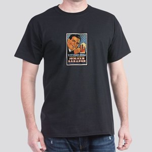 Vintage Russian Beer Ad Dark T-Shirt