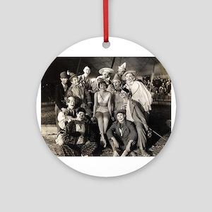 Vintage Clowns Ornament (Round)