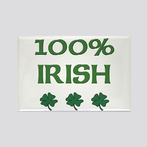 100% IRISH Rectangle Magnet