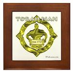 Torah Man Framed Tile