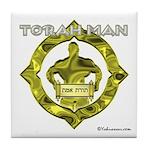 Torah Man Tile Coaster