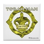 Torah Man Tile Coaster