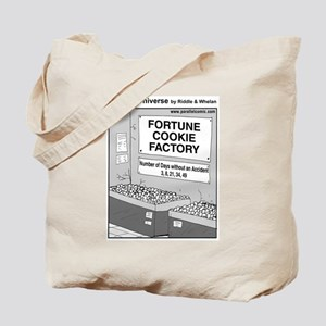 Parallel Universe Fortune Cookie Tote Bag