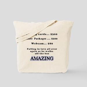 Falling in Love Again Tote Bag