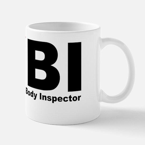 Unique Police inspector Mug