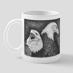 Eagles in Ink Mug