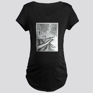 Solitude Maternity Dark T-Shirt