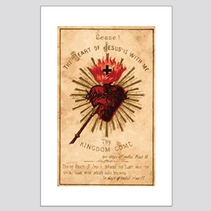 Sacred Heart of Jesus Large Poster