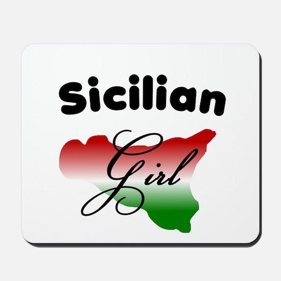 Sicilian Girl Mousepad