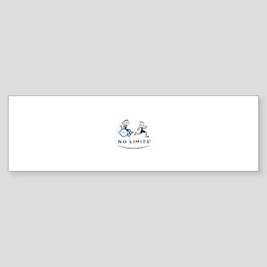 Girl with running Boy Bumper Sticker (10 pk)