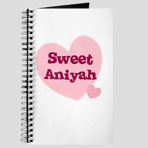 Sweet Aniyah Journal