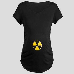 Johnny Test Maternity Dark T-Shirt