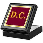 DC Keepsake Box