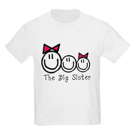 The Big Sister (G,B,G) Kids Light T-Shirt