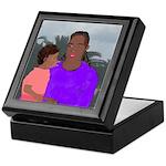 Mother and Daughter Keepsake Box