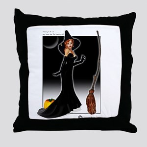 Working 9 To 5 Throw Pillow