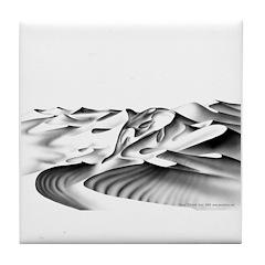Orca Tile Coaster