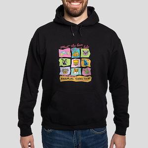 Meet Love Life Red z12x12 Sweatshirt
