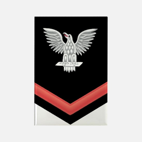Petty Officer Third Class Red Rectangle Magnet